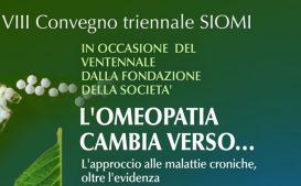 Omeopatia VIII Convegno SIOMI