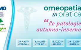"""Corso per farmacisti """"Omeopatia in pratica le patologie autunno-invero"""""""