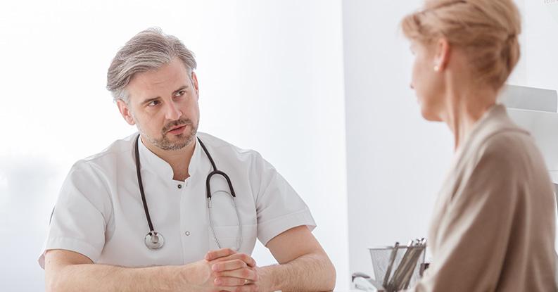 Fibromialgia in una donna di cinquant'anni